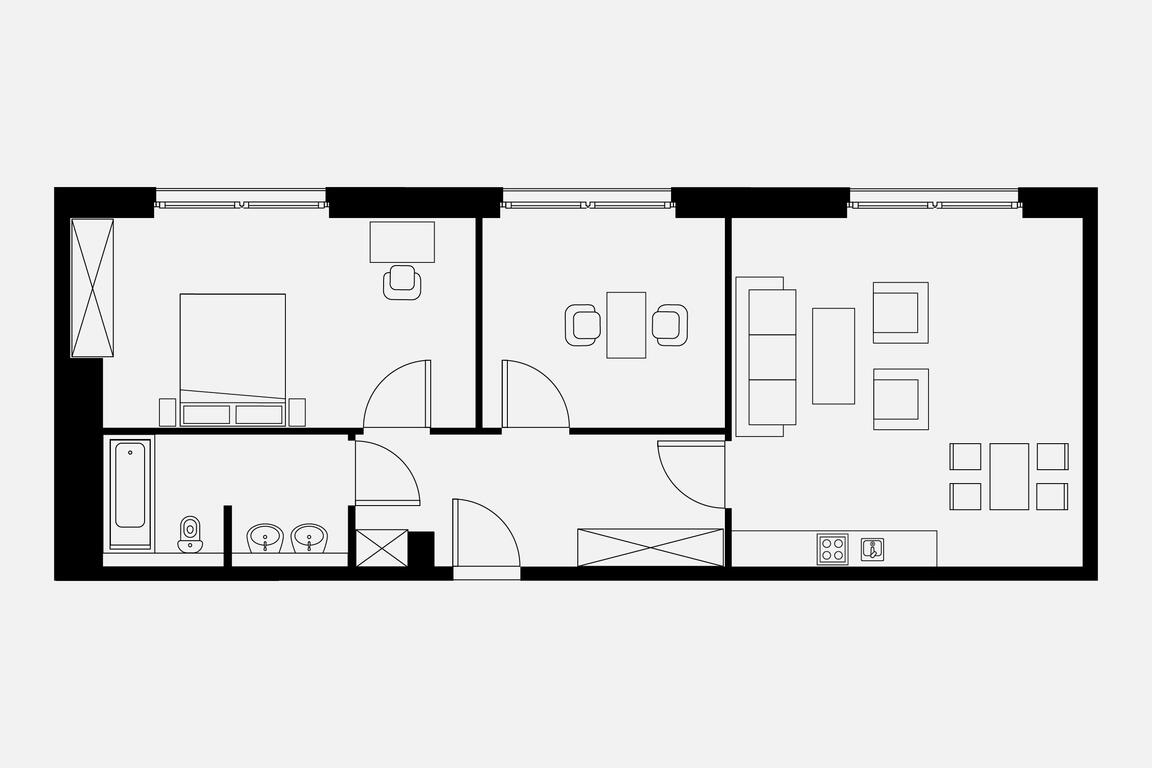 Floorplan Penthouse Plus Plus